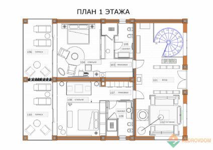 1-floor Burcevo