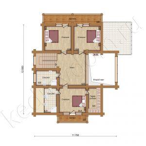 Plan 2 jetazha O-230