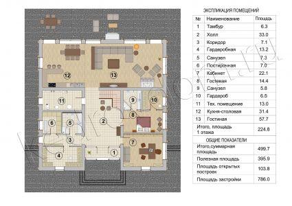 Plan 1 Etazha