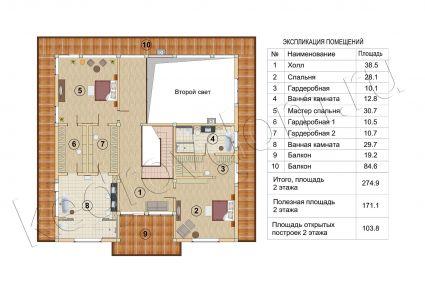 Plan 2 Etazha