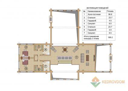 Plan 2 Etazha Vernon