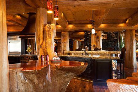 log-cabin-kitchen