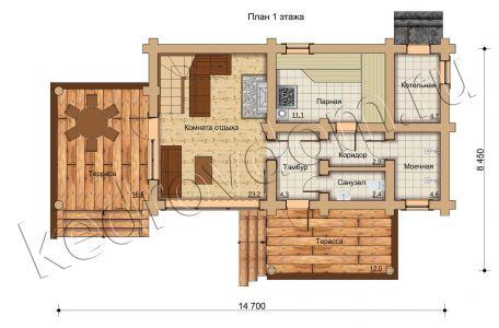 plan 1 jetazha B-119