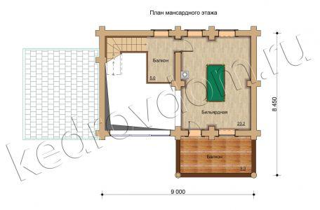 plan 2 jetazha B-119