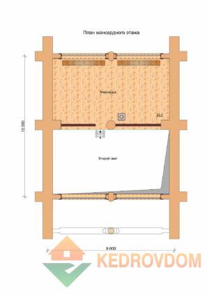 Plan 2 Etazha Tajga