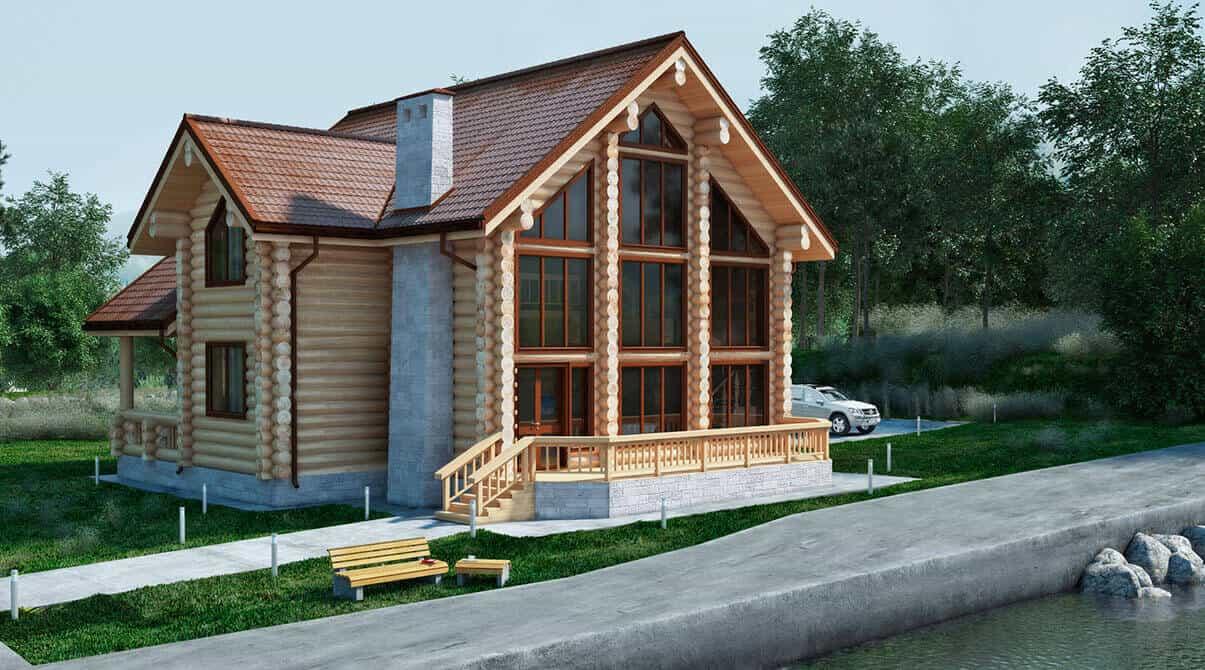 Проект дома О-238